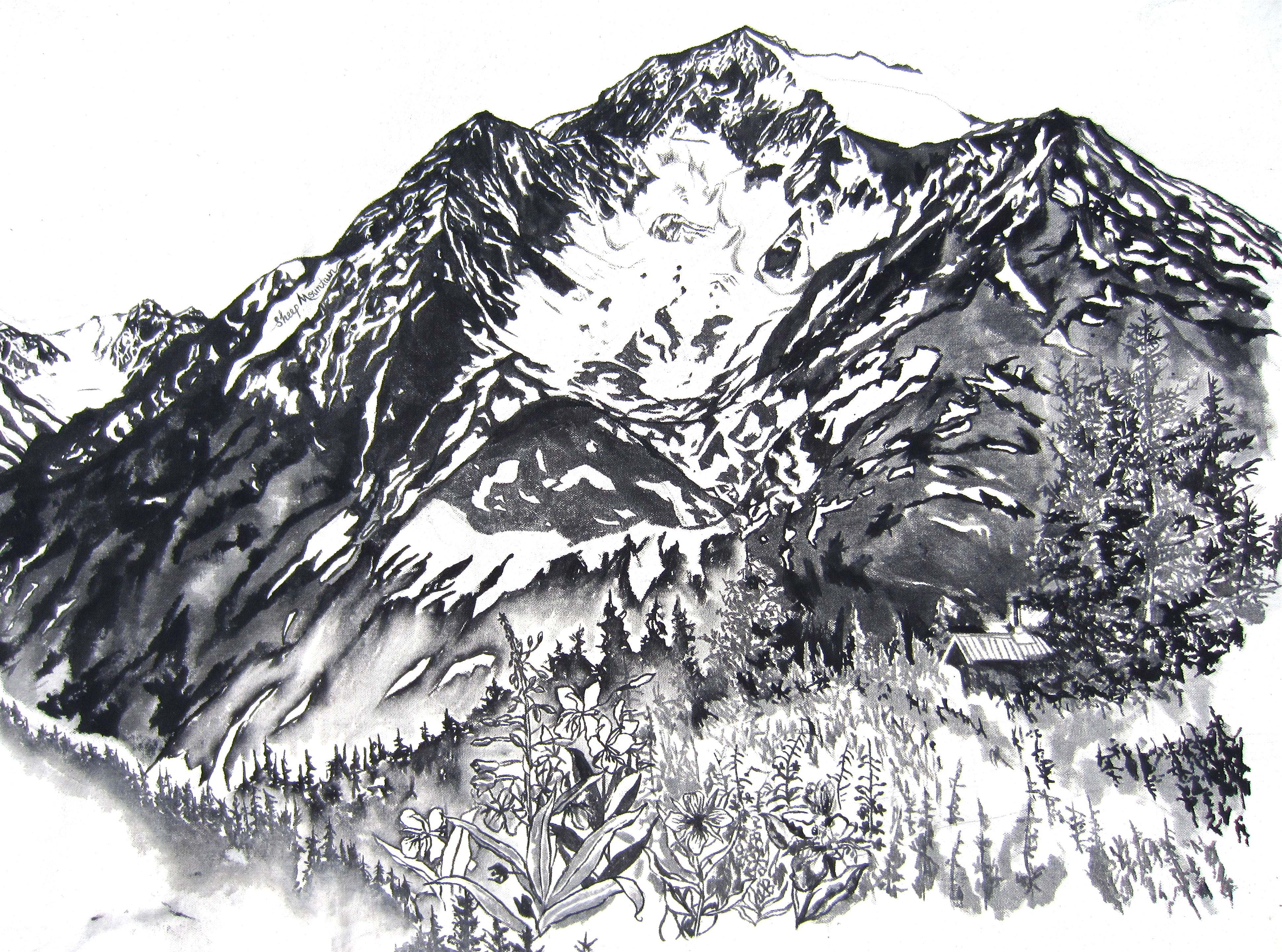 Canvas drawings sarah k glaser for Pictures to draw on canvas