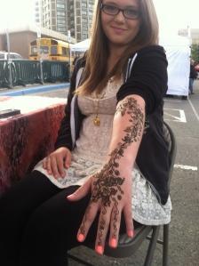 Hand decorations!