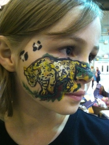 Seward Music and Arts Festival Sarah Glaser Face Painting Alaska