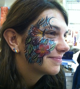 Sarah K Glaser face paint body art anchorage alaska