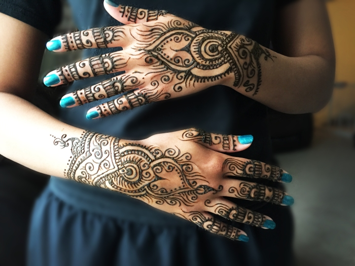 Sarah Glaser Anchorage henna tattoo Alaska mendhi