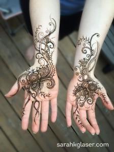 Sarah K. Glaser Alaska mendhi henna